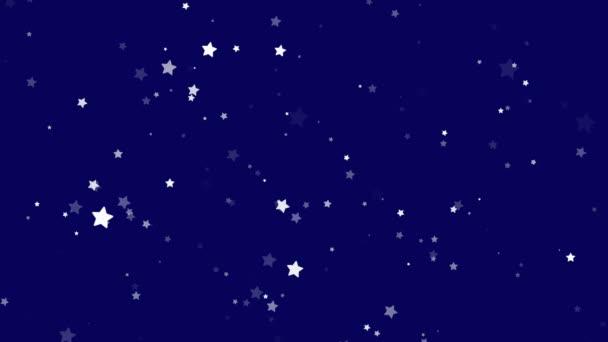 Sparkling glitter stars shiny blink
