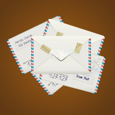 Letters illustration