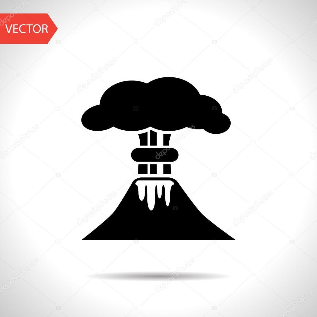 Mushroom cloud, nuclear explosion