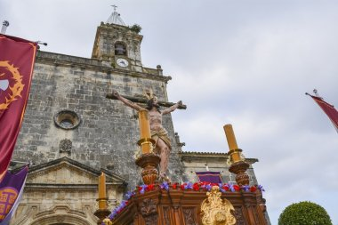 Holy Week in Spain, procession of