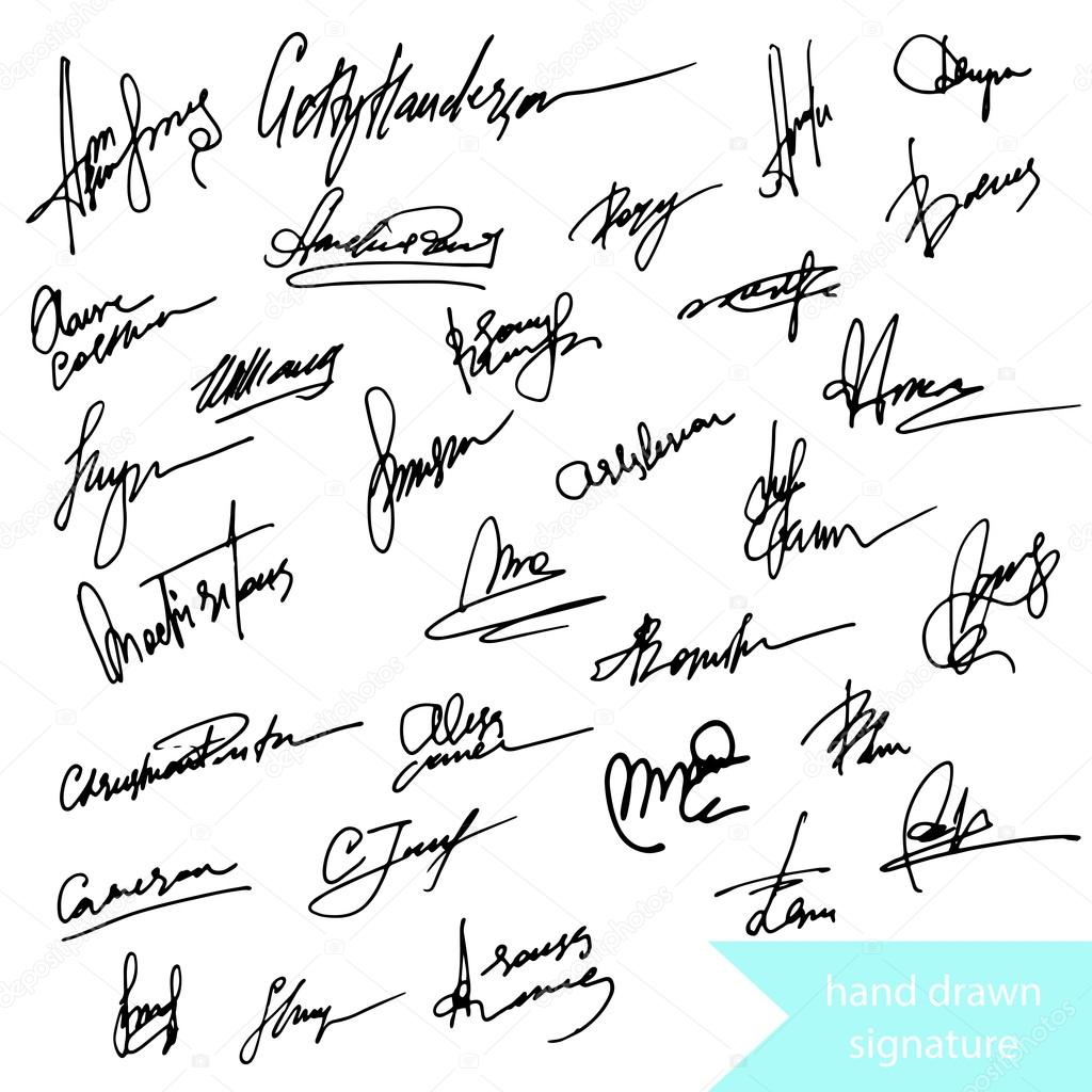 pen signature signs icons � stock vector 169 photovolga