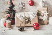 Vánoční složení s dárky boxy