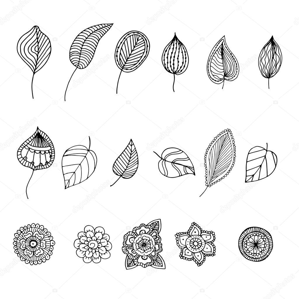 Doodle de zentangle dibujado a mano ilustración de libros para ...