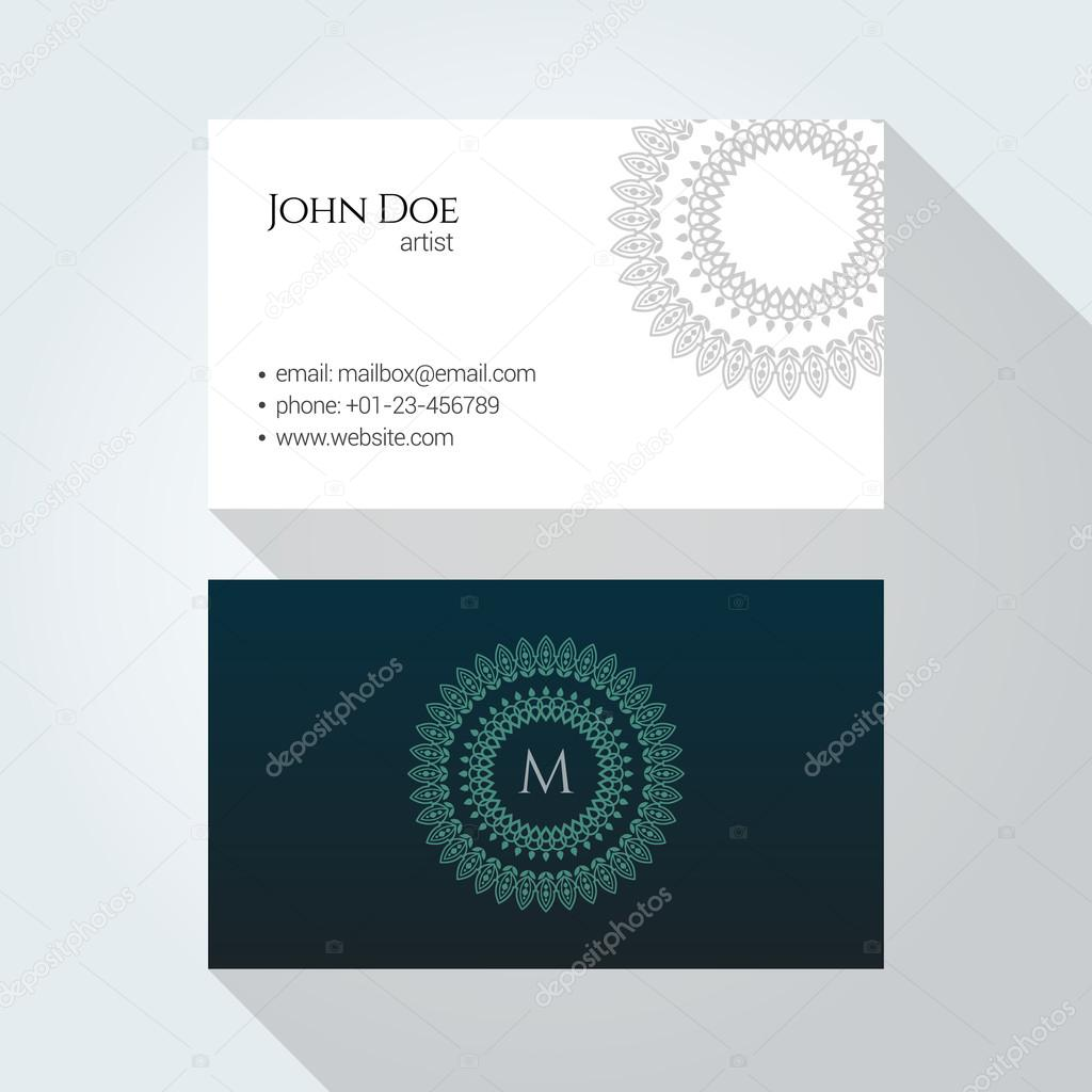 Corporate business card template logo template design simple corporate business card template logo template design simple minimal modern design vetor reheart Image collections