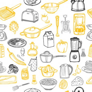 Kitchen set background