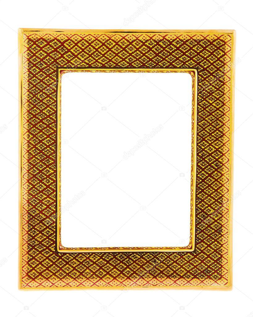 digitaler bilderrahmen retro wandmontage f r hintergrund stockfoto subinpumsom 119608094. Black Bedroom Furniture Sets. Home Design Ideas