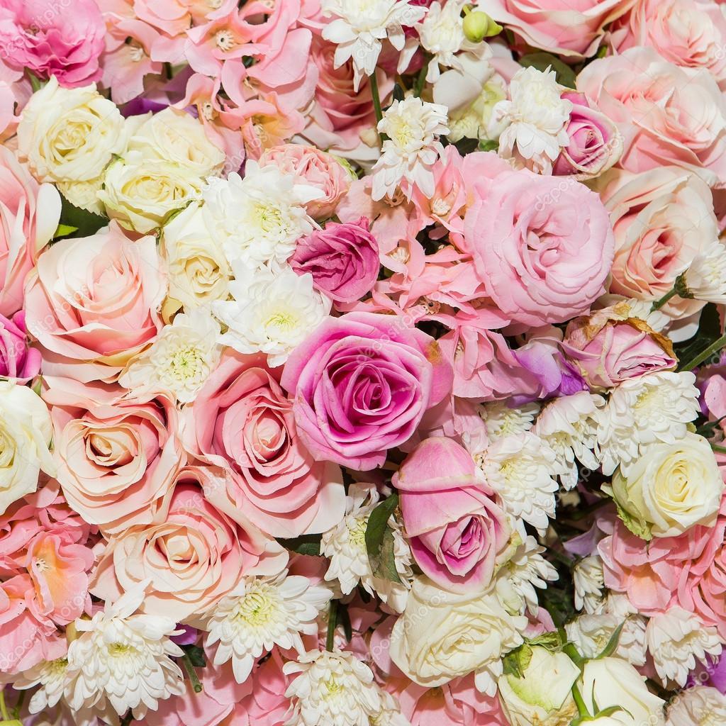 Uitzonderlijk mooie bloemen achtergrond — Stockfoto © subinpumsom #64906463 &SN18