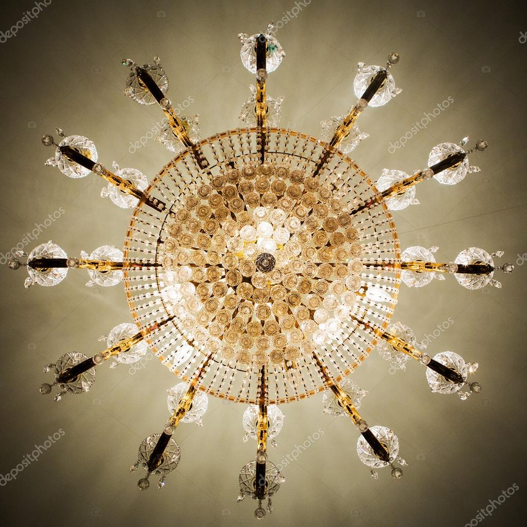 Elegant crystal chandelier stock photo subinpumsom 88413822 elegant crystal chandelier stock photo 88413822 arubaitofo Choice Image