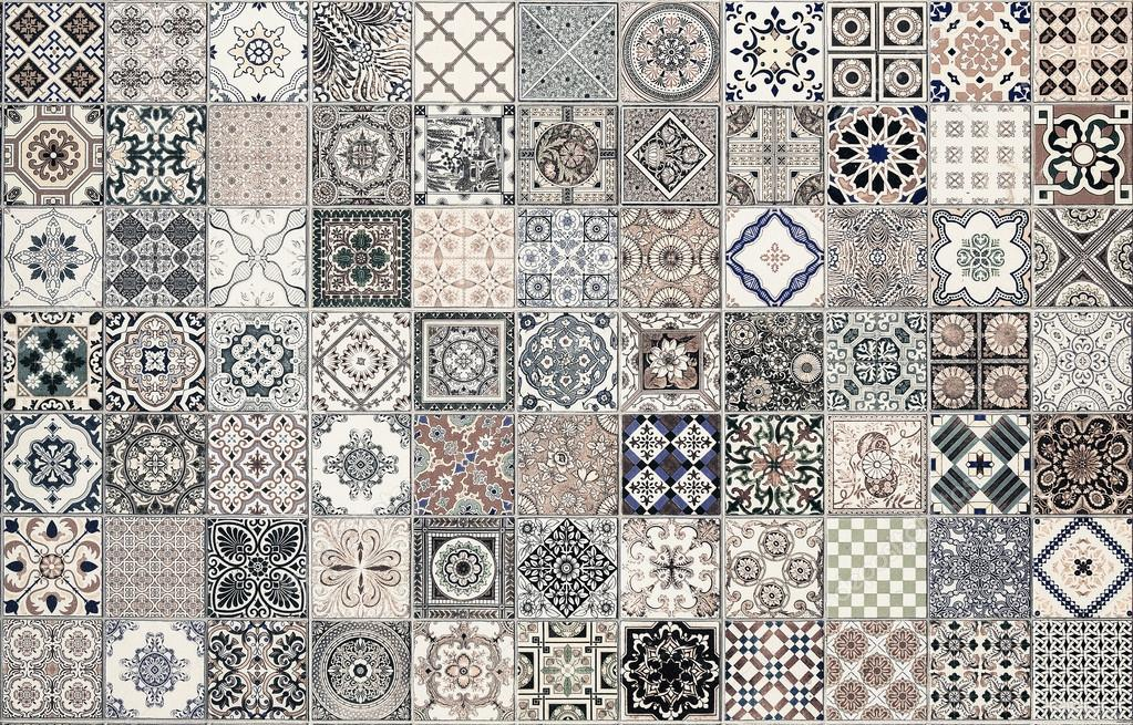 Keramische Fliesen Muster Aus Portugal Stockfoto C Subinpumsom