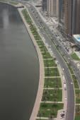Blick auf Dubai Stadt