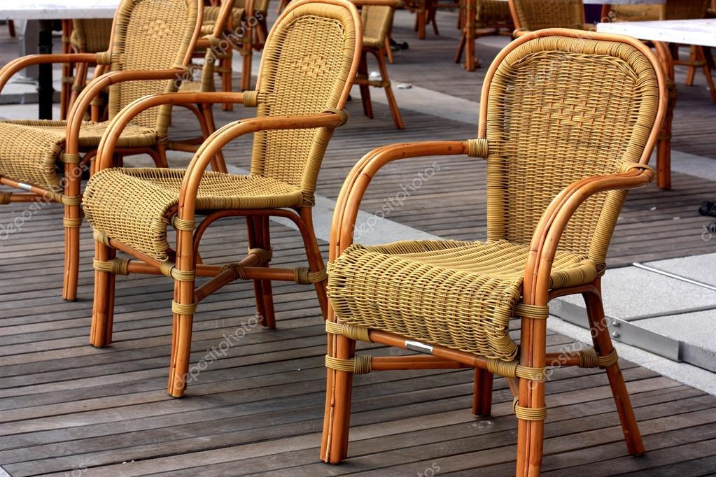 sillas tejidas — Foto de stock © Mr_Khan #68450365