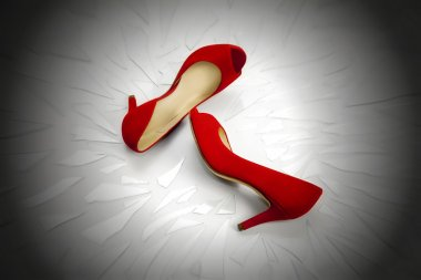 Red shoes, a symbol femicide