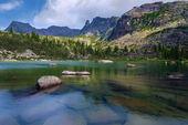 Jezero umělci nebo Zašpičatělá do rezervy si Ergaka