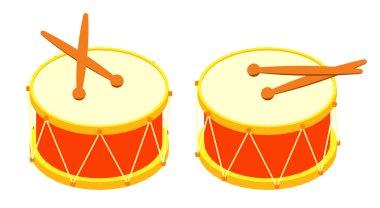 Drum and drum sticks