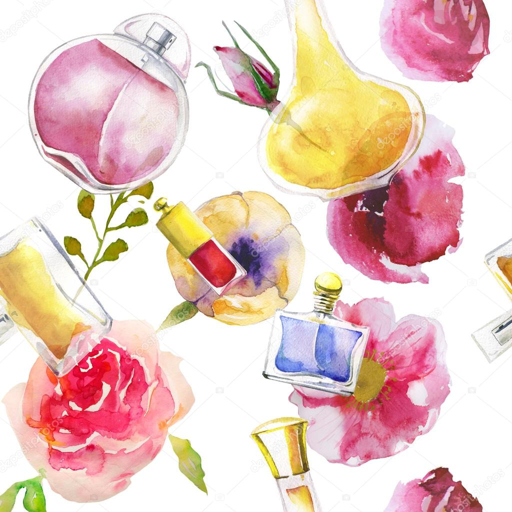 достижения картинки косметики и парфюмерии для аватарки группы акварелью после каждого нового