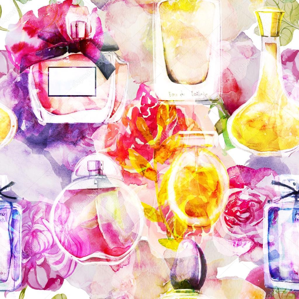 вкусе картинки косметики и парфюмерии для аватарки группы акварелью для истинных