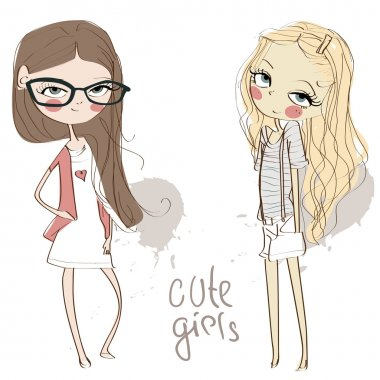 Cute girls.