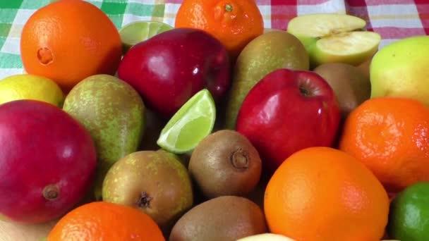 různé ovoce detail