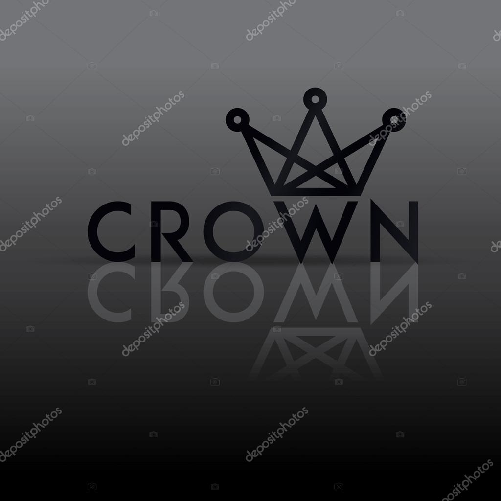 Logo-Schablone mit Kronen-symbol — Stockvektor © ballakornel ...