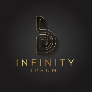 Elegant alphabet letter logo