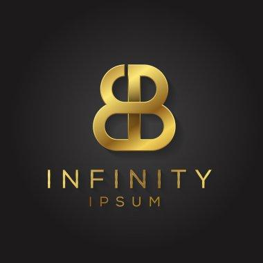 Elegant alphabet symbol