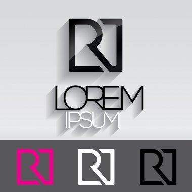 Alphabet  R  logo design