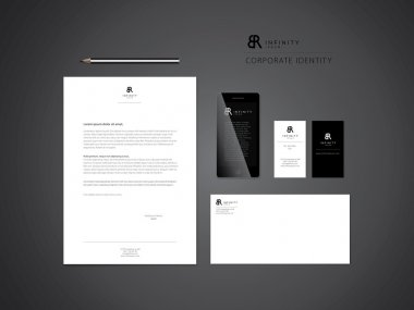 Set of business corporate templates