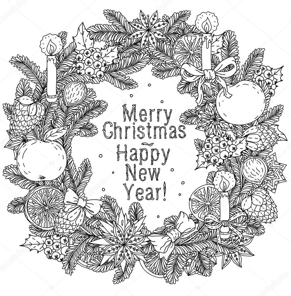 Joyeux Noël Lettrage De Conception De Carte De Voeux