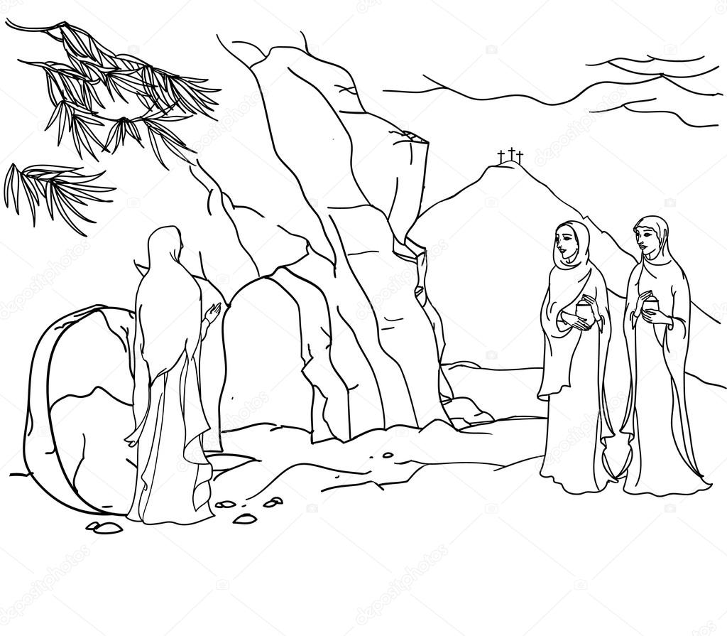 scene of Mary Magdalene