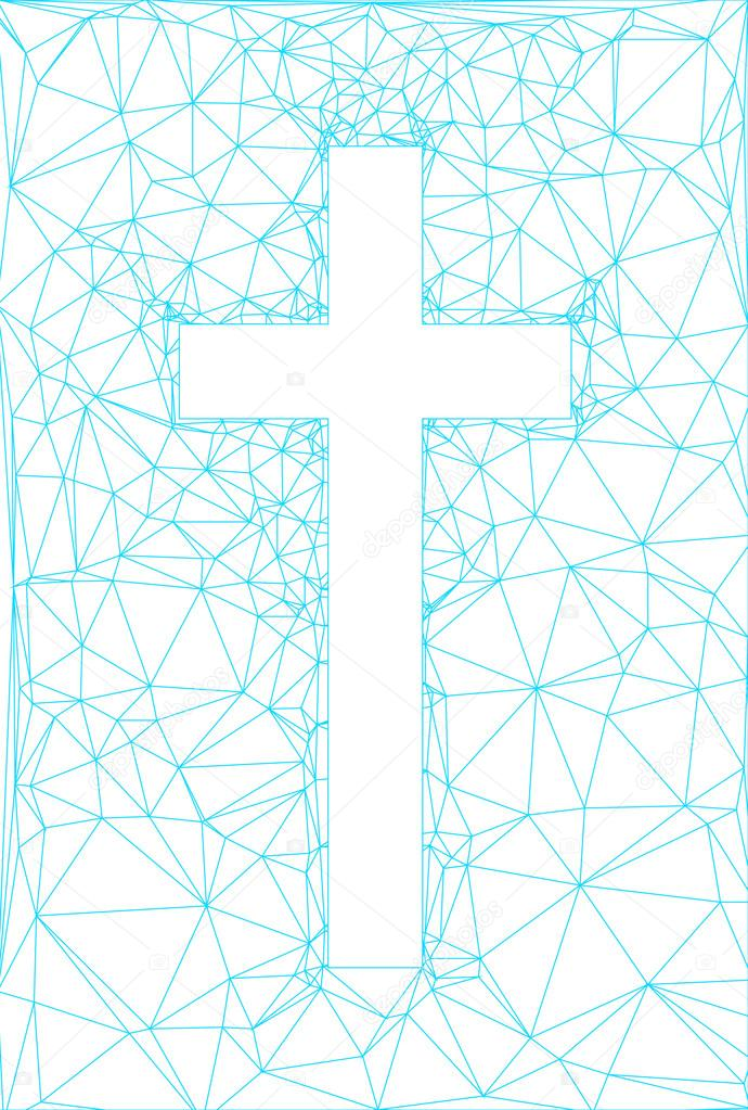 abstract background with cross