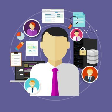 career in IT technology CIO chief information officer to administrator staff and programmer