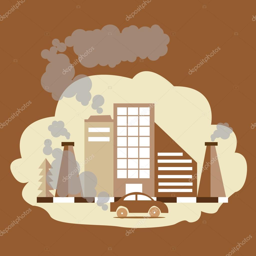 fum e de la chemin e d 39 usine de pollution co co2 du air dioxyde du monoxyde de carbone image. Black Bedroom Furniture Sets. Home Design Ideas