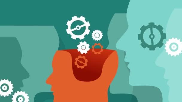 machine learning head gear set rotating knowledge thinking engine human