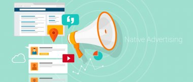 Native social media content advertising marketing