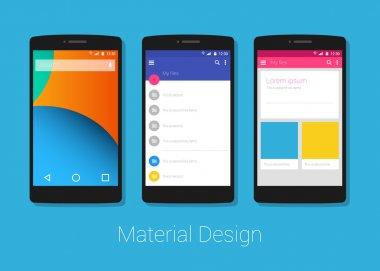 material design phone lolipop