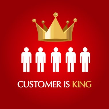 customer is king consumer user queen