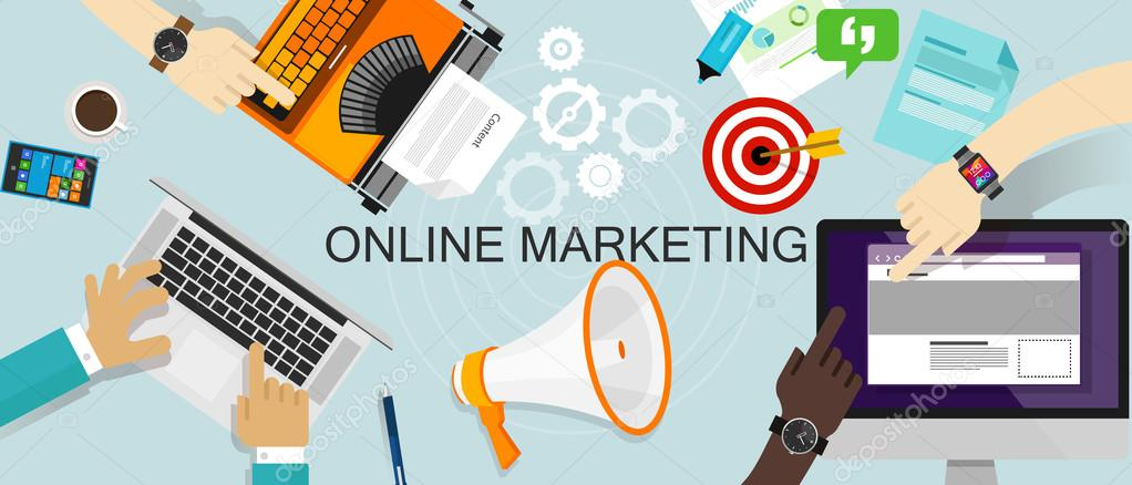 Online Marketing Promotion Branding ads web