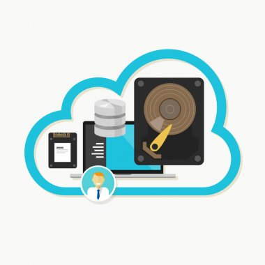 web cloud storage database online file sharing data center