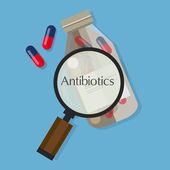 Fotografie antibiotics capsule medication vector