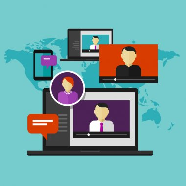 webinar online training education concept distance learning e-learning