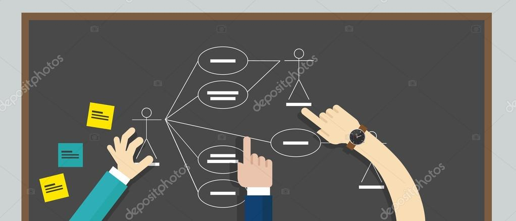 Use case diagram uml unified modeling language stock vector use case diagram uml unified modeling language stock vector ccuart Images