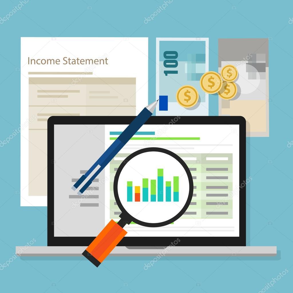 ingreso Declaración contable software dinero calculadora aplicación ...