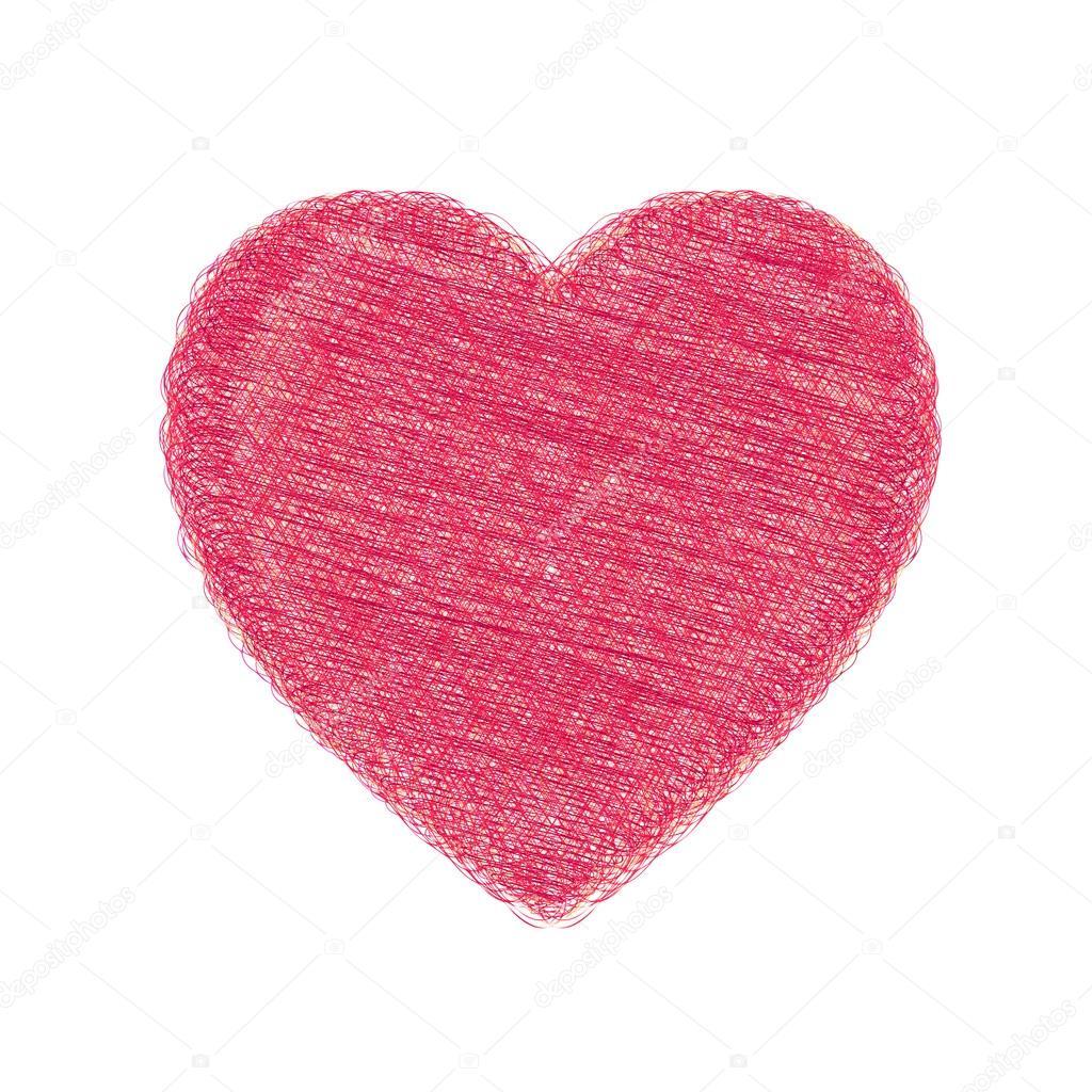 Dibujos Dibujo De Corazones A Lapiz Dibujo A Lápiz De Un Corazón