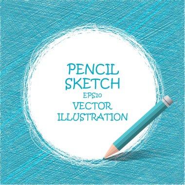 Sketch pencil drawing.
