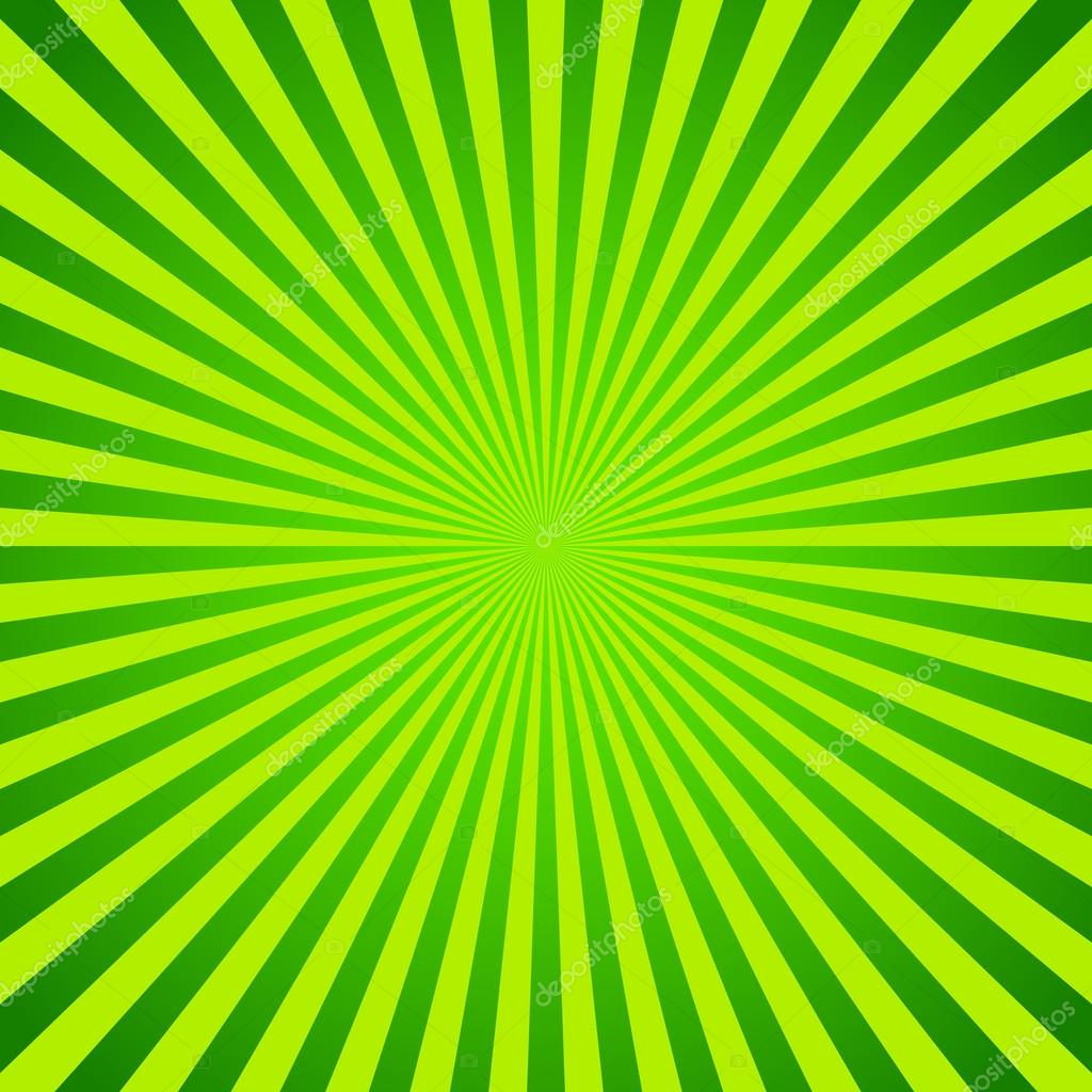 Stock Illustration Green Vector Background Of Radial on Green Spiral Book