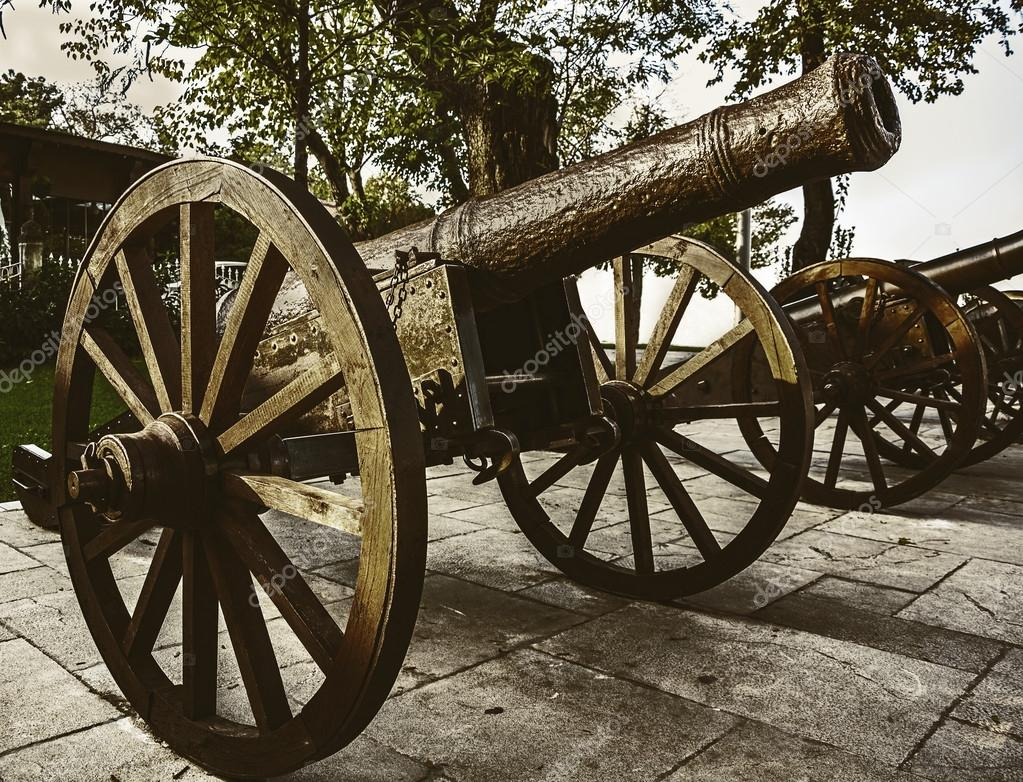 Historic Cannons Ottoman Empire Period Stock Photo Aosmanpek