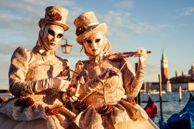 Masks from the famous carnival in venice.