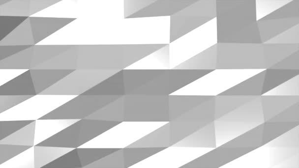 bílá abstraktní nízké poly pozadí