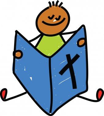 Bible kid cartoon
