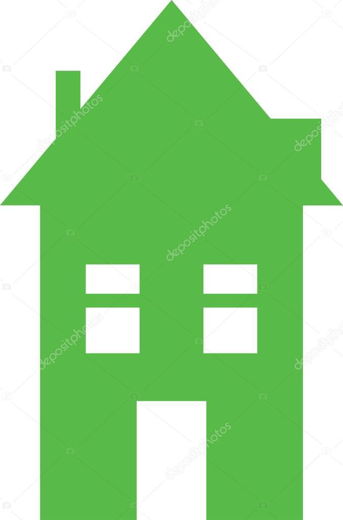 シンプルな家のイラスト ストックベクター Prawny 64287259
